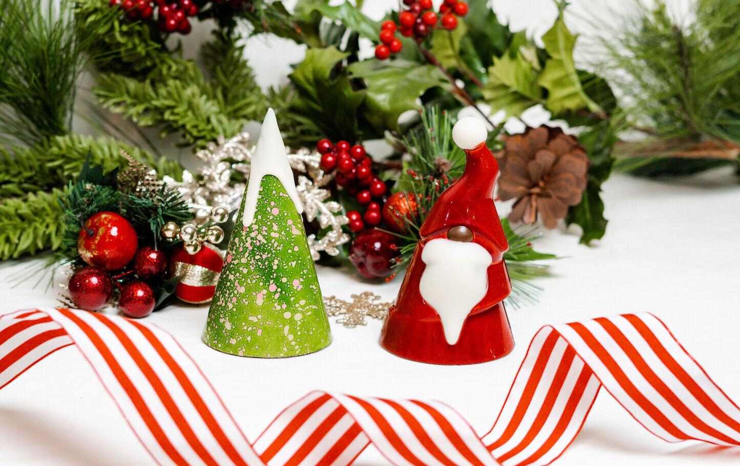 Tree and Santa